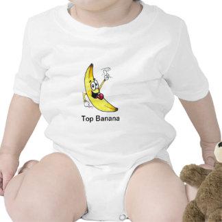 Top Banana dancing banana cartoon Bodysuits