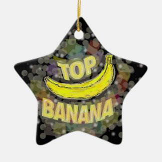 Top banana. christmas tree ornaments