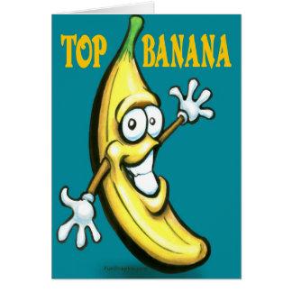 Top Banana Greeting Card