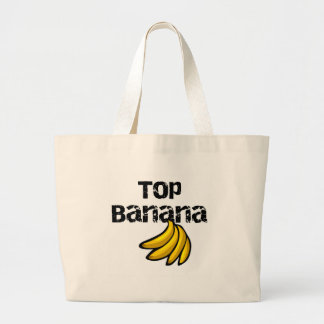 Top Banana Large Tote Bag