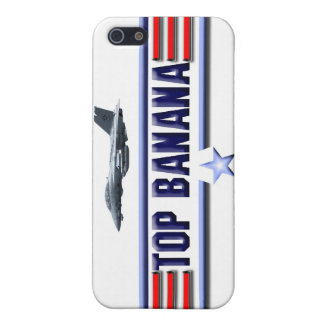 Top Banana Logo iPhone 5/5S Cover
