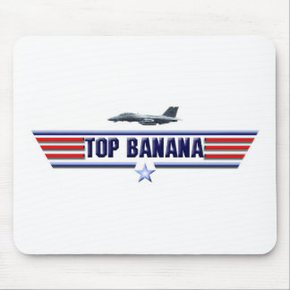 Top Banana Logo Mouse Pad