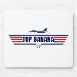 Top Banana Logo Mousepads