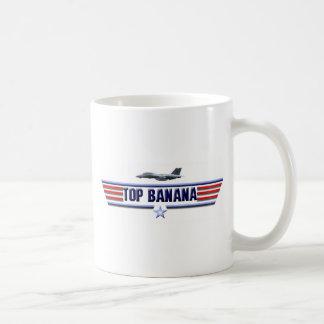 Top Banana Logo Classic White Coffee Mug