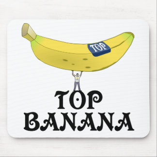 Top Banana Mouse Mat