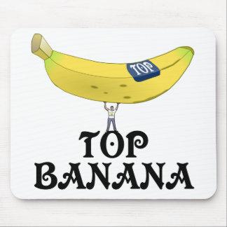 Top Banana Mouse Mat