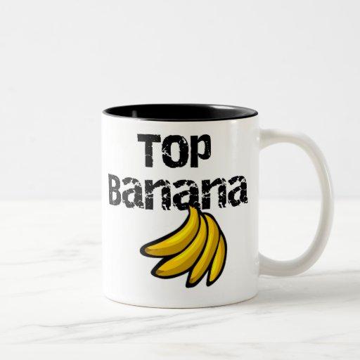 Top Banana Coffee Mugs