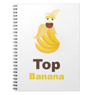 Top Banana Note Books