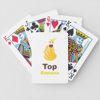 Top Banana Bicycle Poker Deck