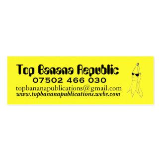 Top Banana Republic Business Card Templates
