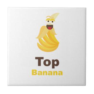 Top Banana Ceramic Tile