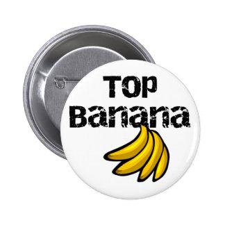 Top Banana Tshirts and Gifts 6 Cm Round Badge