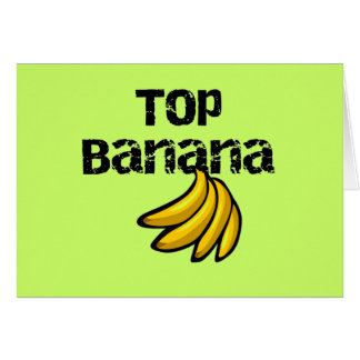 Top Banana Tshirts and Gifts Card