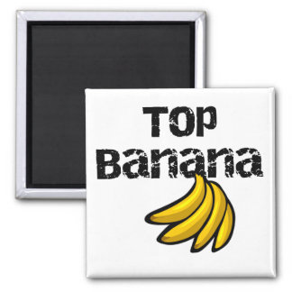 Top Banana Tshirts and Gifts Square Magnet