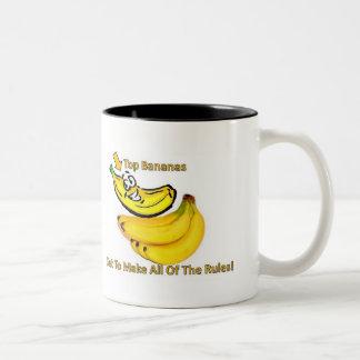 Top Bananas Get To Make All Of The Rules! Two-Tone Mug