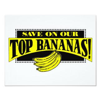 Top Bananas Custom Invitation