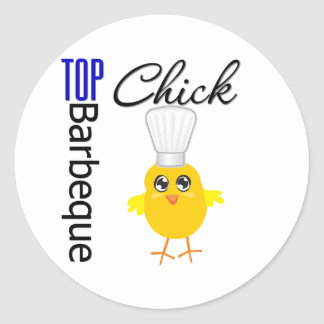 Top Barbecue Chick Stickers