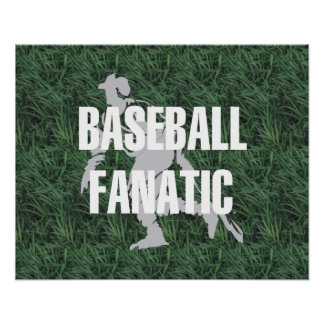 TOP Baseball Fanatic Poster