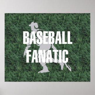 TOP Baseball Fanatic Poster