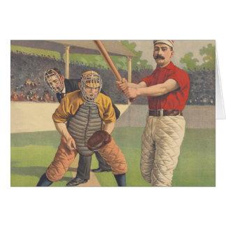 TOP Baseball Pastime Greeting Card