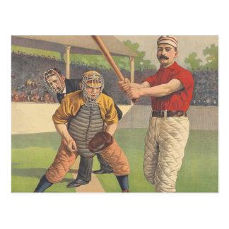 TOP Baseball Pastime Postcard