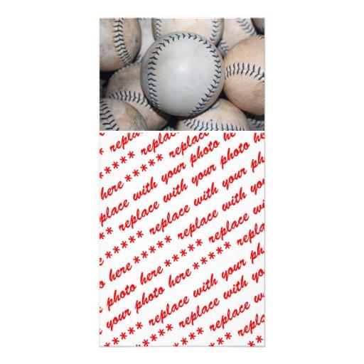 Top Baseball Customized Photo Card