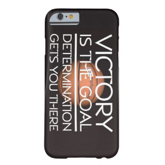 TOP Basketball Victory Slogan Barely There iPhone 6 Case