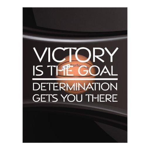 TOP Basketball Victory Slogan Flyers