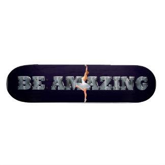TOP Be Amazing Ballet Custom Skate Board