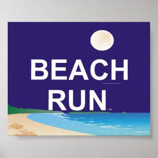 TOP Beach Run Poster