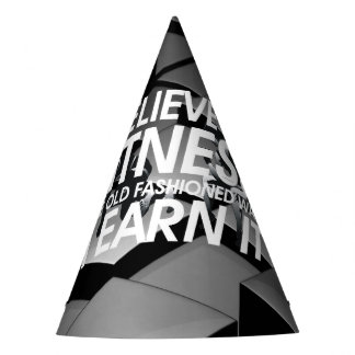 TOP Believe in Fitness Party Hat
