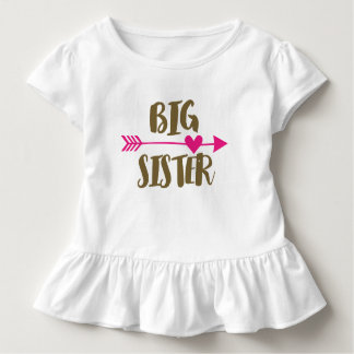 Top Big Sister T Shirt