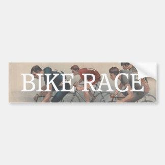 TOP Bike Race Bumper Sticker