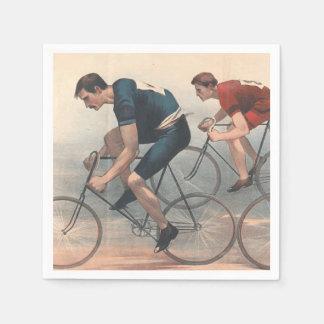 TOP Bike Race Paper Serviettes