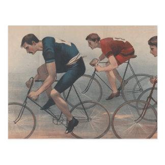 TOP Bike Race Postcard