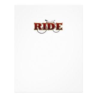 TOP Bike Ride 21.5 Cm X 28 Cm Flyer