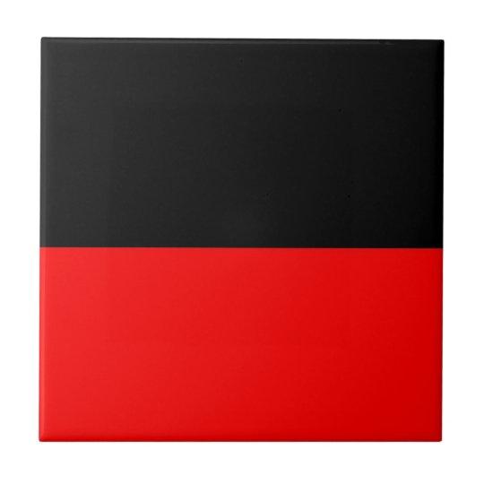 top black bottom red DIY custom background templat Tile