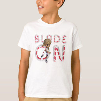 TOP Blade On T Shirt