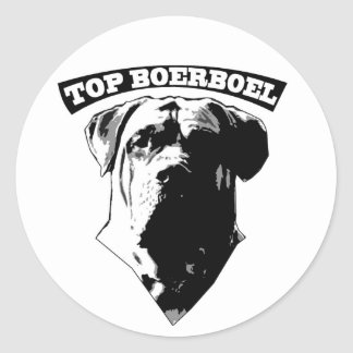 Top Boerboel Sticker