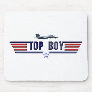 Top Boy Logo Mouse Pad