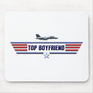Top Boyfriend Logo Mouse Pad