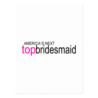 Top Bridesmaid Postcards