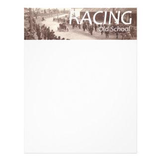 TOP Car Race Old School Flyer Design