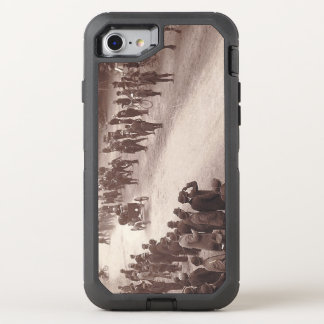 TOP Car Race Old School OtterBox Defender iPhone 8/7 Case