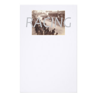 TOP Car Race Customized Stationery