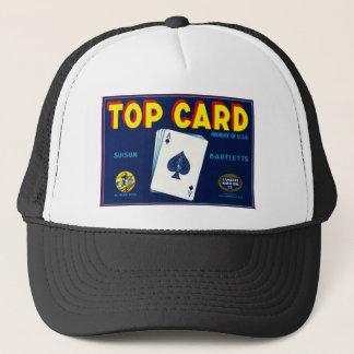 Top Card Bartletts Pears Trucker Hat