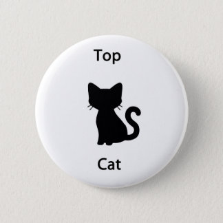 Top cat 6 cm round badge