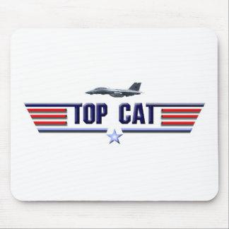 Top Cat Logo Mouse Pad