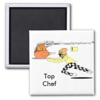 Top Chef Square Magnet
