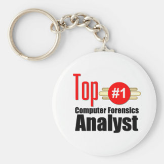 Top Computer Forensics Analyst Keychains